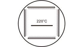 220度高温烘烤烤漆工艺