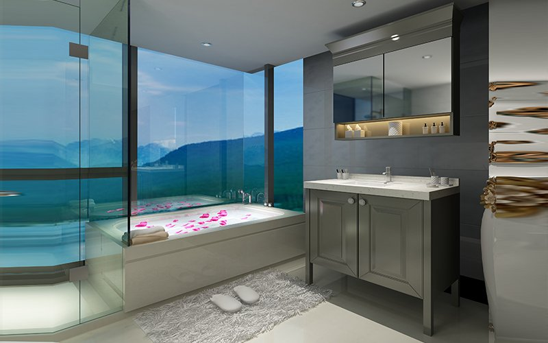 浴室柜系列—浴室柜 BSYG06