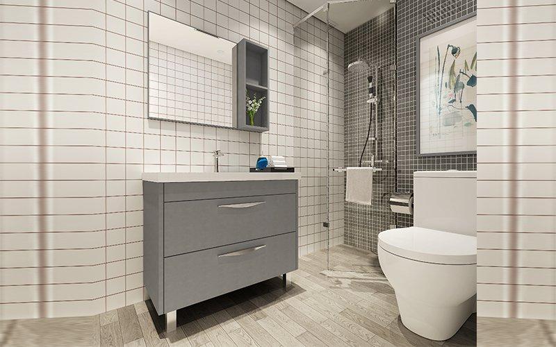 浴室柜BSYG09